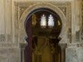 Aljaferia Tor zum Gebetsraum