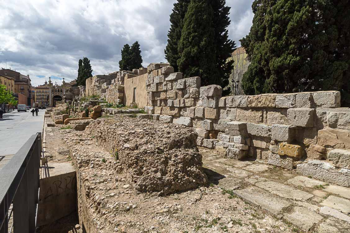 Stadtmauer Saragossa