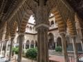 Sevilla - Alcazar Innenhof schräger Teil