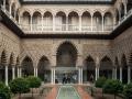 Sevilla - Alcazar Innenhof