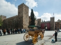 Sevilla - Alcazar außen