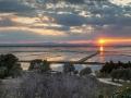 Albufeira Sonnenuntergang glatt