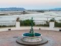 Albufeira bewässerte Reisfelder