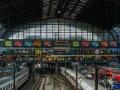 Hauptbahnhof Hamburg Bahnsteighalle