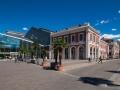 Madrid Pincipe Pio Seite Empfangsgebäude