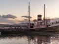 Beagle Kanal altes Schiff bei Ushuaia