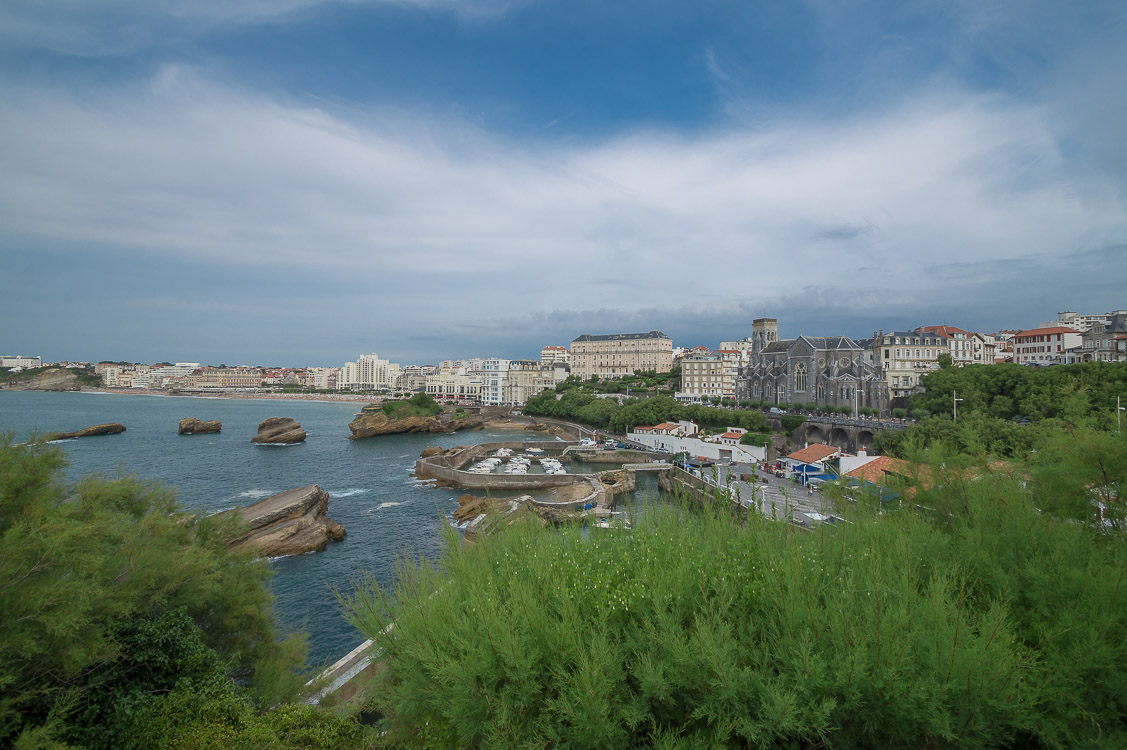 Port de Pecheurs und Grande Plage