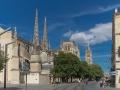 Kathedrale von Bordeaux von hinten