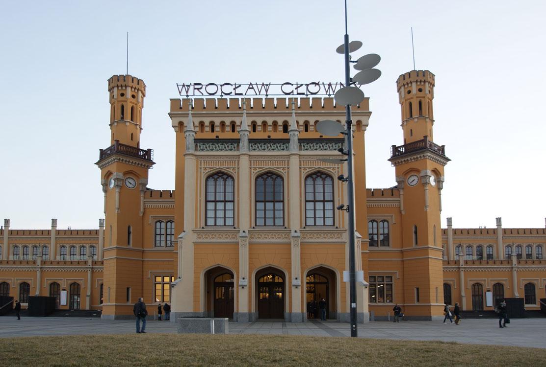 Hauptbahnhof Breslau