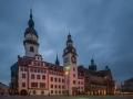 Rathaus nachts