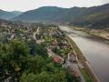 Elbe bei Usti nad Labem