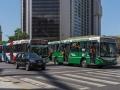 Bus mit Fans