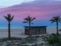 Strand mit Abendrot