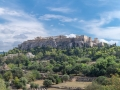 Akropolis über griechischerAgora