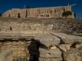 Dionysos Theater und Akropolis Mauer