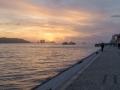 Tejo Ufer Sonnenuntergang