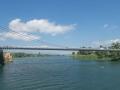 Hängebrücke von Amposta