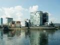Hochhäuser des Medienhafen Düsseldorf