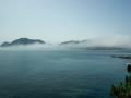 Nebel auf den Cies Inseln