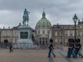 Schloss Amalienborg mit Wachen
