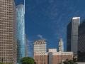 Drei höchsten Wolkenkratzer LAs