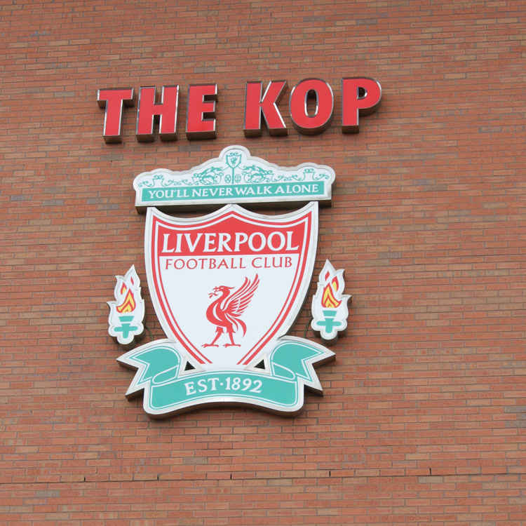 Anfield Road - the Kop