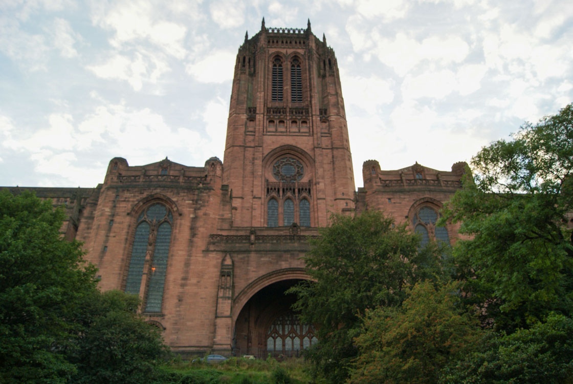 Anglikanische Kathedrale Liverpool