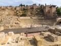 Amphitheather und Burg Málaga