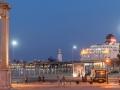 Hafen Leuchturm abends