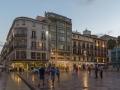 Plaza de la Constitucion abends