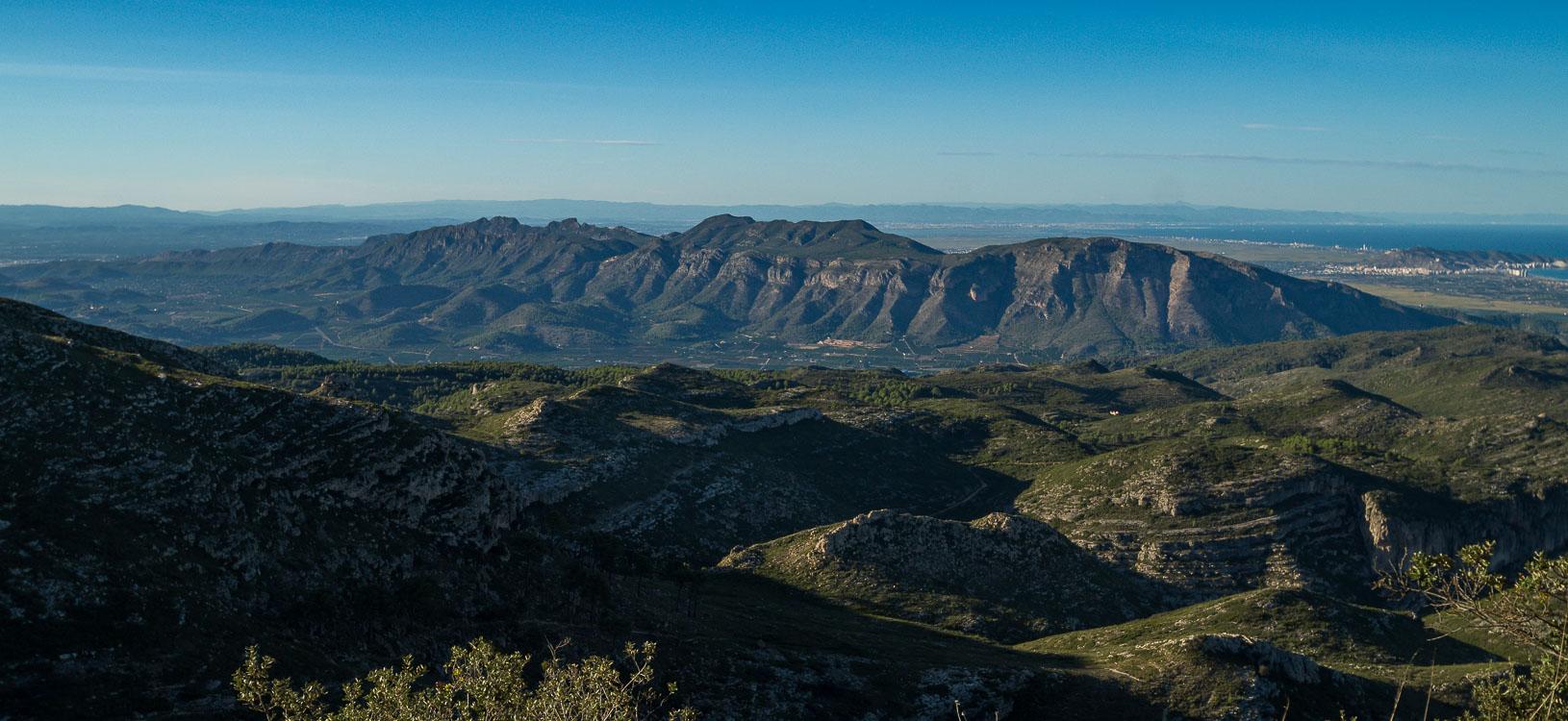 Blick auf Sierra Corbera 2