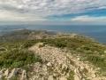 Gipfelblick Küstenlandschaft