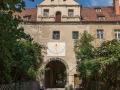 Mühlberg Schloss Eingang