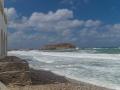 Naxos Tor im Sturm