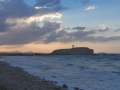 Tor von Naxos im Abendhimmel 2