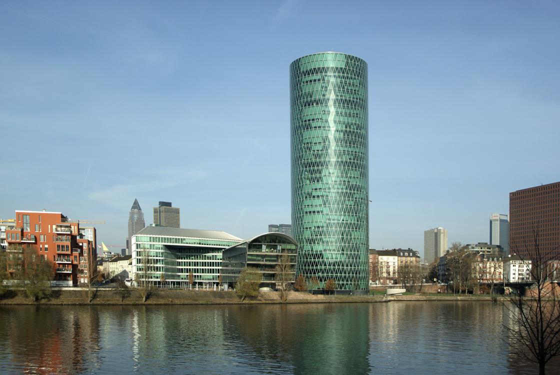 Neue Hochhäuser Frankfurt