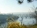 Moldau und Stadt Prag