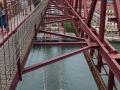 Puente Colgante Fahrkorb von oben