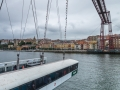 Puente Colgante Fahrkorb von seite