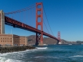 Fort Point unter der Golden Gate Bridge