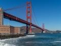 Fort Point unter der Golden Gate Bridge