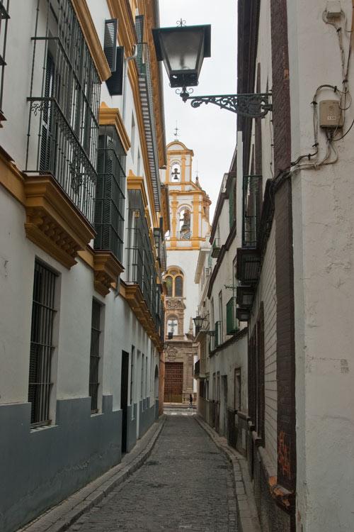 Altstadtgasse Sevilla
