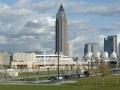 Skyline Frankfurt vom Europaviertel