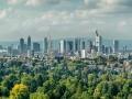 Skyline Frankfurt vom Goetheturm