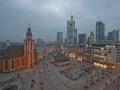 Skyline Frankfurt mit Hauptwache