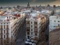 Valencia Skyline Altstadt