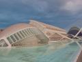 Valencia Skyline Stadt der Wissenschaft und Künste