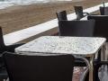El Perello Tisch und Meer