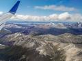 Feuerland vom Flugzeug