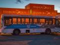 Container und Bus in Ushuaia